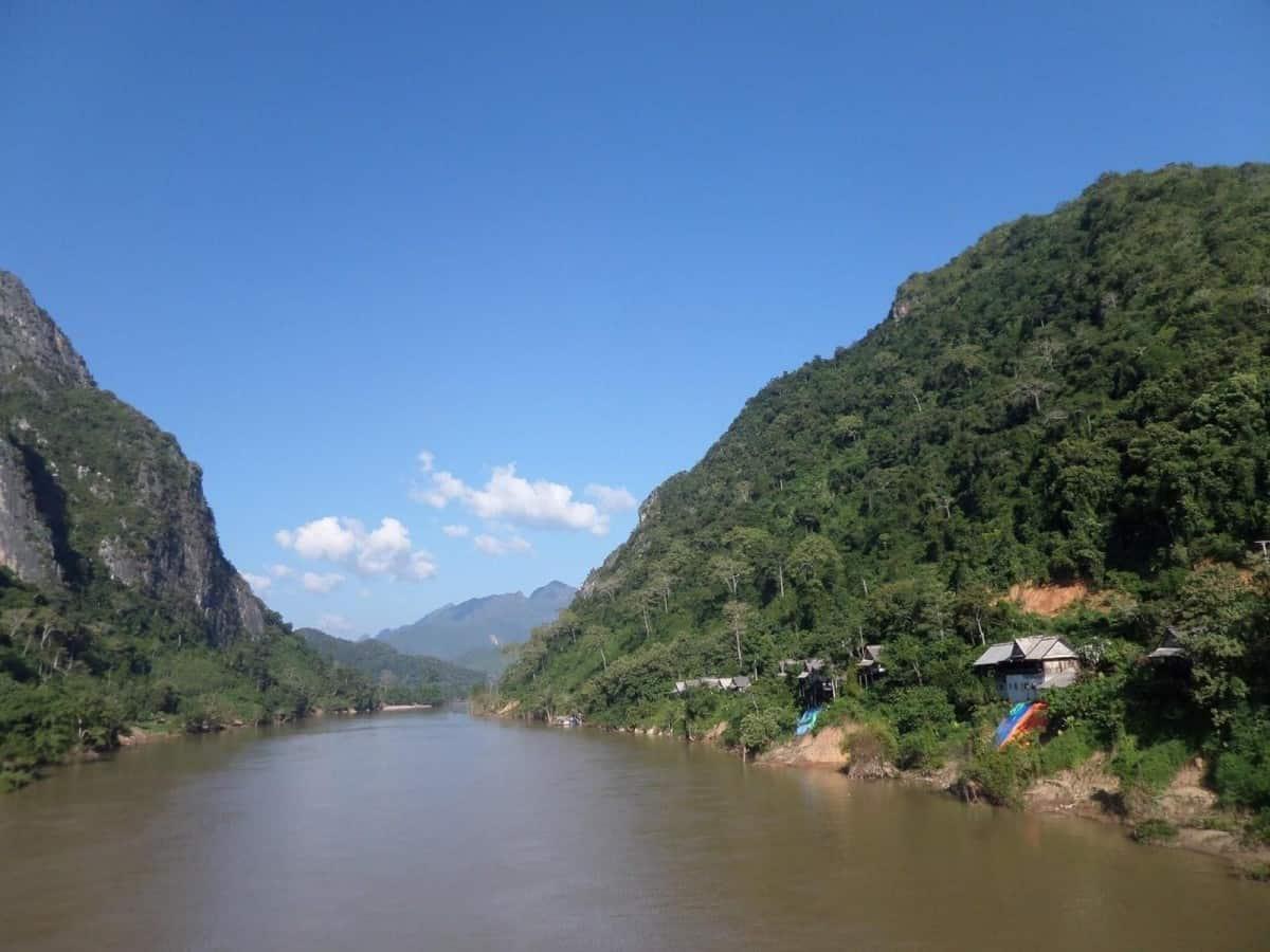 Nong Khiaw, a tiny village in Laos Csaba