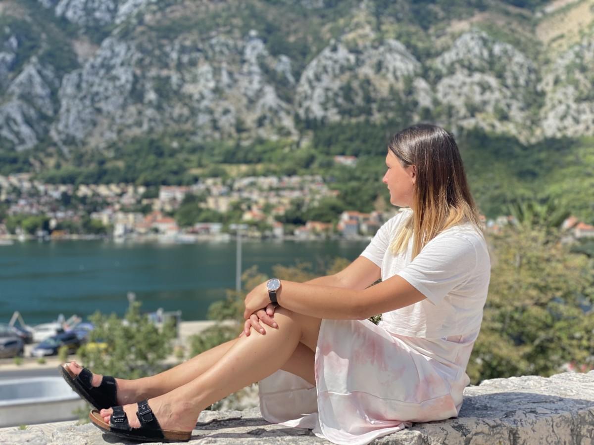 Lucy Johnson in Montenegro