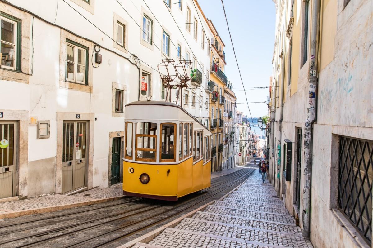 Portugal street car