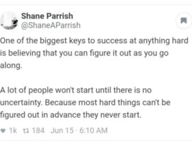 Screenshot from Shane Parrish tweet from June 15